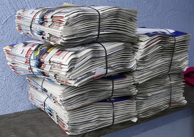 newspapers-2586624_640